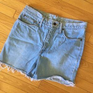 Levi Jeans - DIY Cut Off Shorts - Size 33